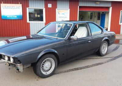 BMW 635 jälkeen 1